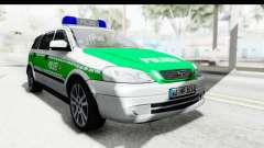 Opel Astra G Variant Polizei Bayern for GTA San Andreas