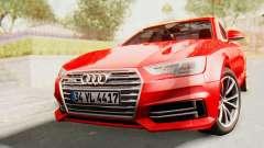 Audi A4 2017 IVF for GTA San Andreas
