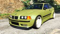 BMW M3 (E36) Street Custom v1.1 for GTA 5
