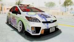 Toyota Prius Hybrid 2011 Hellaflush IF Itasha for GTA San Andreas