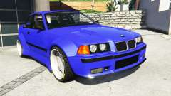 BMW M3 (E36) Street Custom [blue dials] v1.1 for GTA 5