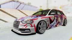 Audi S4 Avant Yurippe Angel Beats Itasha