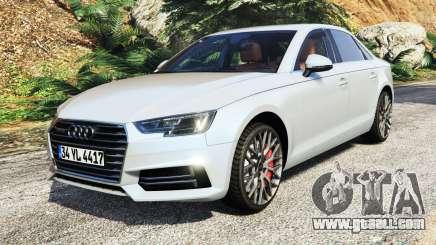 Audi A4 2017 v1.1 for GTA 5