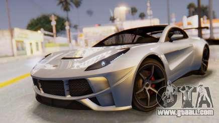 GTA 5 Dewbauchee Seven 70 SA Lights for GTA San Andreas