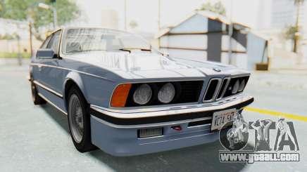 BMW M635 CSi (E24) 1984 IVF PJ1 for GTA San Andreas