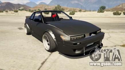 Nissan Silvia S13 6666 Rocket Bunny 1.7 for GTA 5