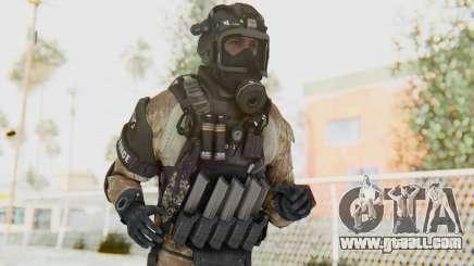 Federation Elite SMG Desert for GTA San Andreas