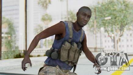 CoD MW3 Africa Militia v2 for GTA San Andreas