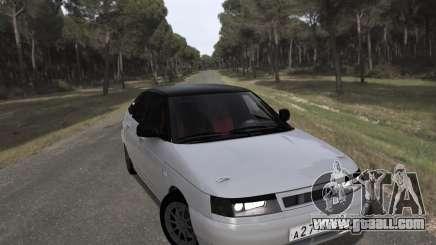 VAZ 2112 GVR for GTA San Andreas