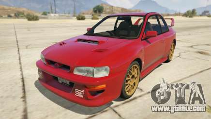 1998 Subaru Impreza 22B-STi Series I for GTA 5