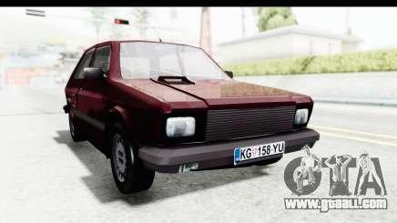 Zastava Yugo Koral 55 1996 for GTA San Andreas