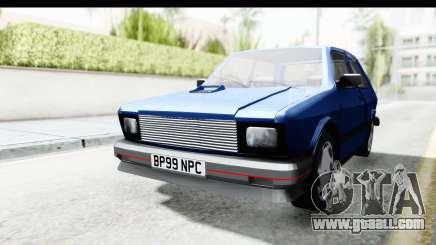 Zastava Yugo Koral UK for GTA San Andreas