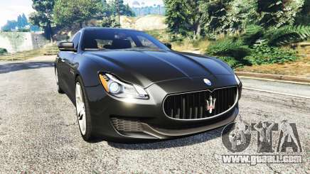 Maserati Quattroporte 2013 for GTA 5