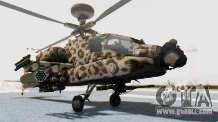 AH-64 Apache Leopard for GTA San Andreas