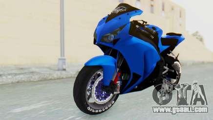 Honda CBR1000RR Streetrace for GTA San Andreas