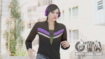 GTA Online Skin Female for GTA San Andreas