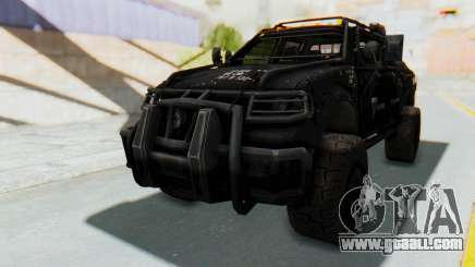 Toyota Hilux Technical Vindicator SecFor for GTA San Andreas