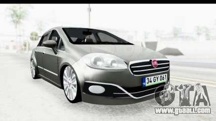 Fiat Linea 2014 for GTA San Andreas