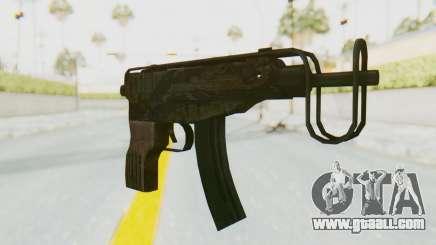 VZ-61 Skorpion Fold Stock Tiger Stripes Camo for GTA San Andreas