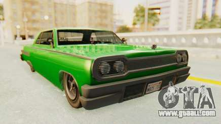 GTA 5 Declasse Voodoo SA Lights for GTA San Andreas