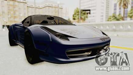 Ferrari 458 VPM Crew for GTA San Andreas