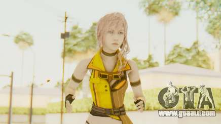 Final Fantasy XIII - Lightning Electronica for GTA San Andreas