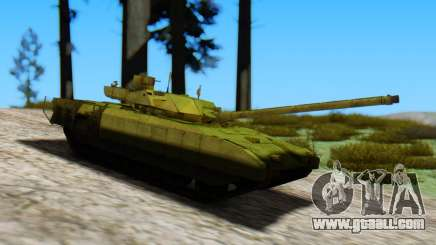 T-14 Armata Green for GTA San Andreas