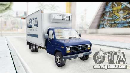 Ford E-350 Cube Truck IVF for GTA San Andreas