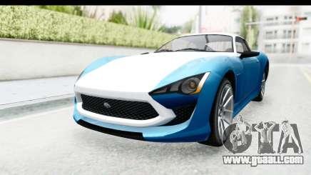 GTA 5 Lampadati Furore GT SA Lights for GTA San Andreas