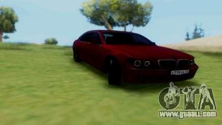 BMW 760i for GTA San Andreas