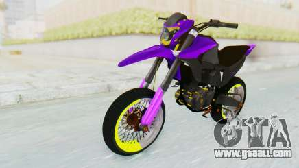 Honda NXR 160 Bros Supermoto Elite for GTA San Andreas