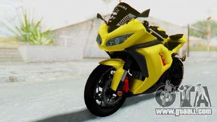 Kawasaki Ninja 250 Abs Streetrace v2 for GTA San Andreas