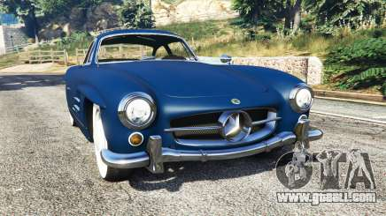 Mercedes-Benz 300SL Gullwing 1955 for GTA 5