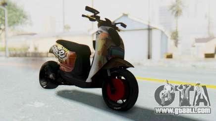Honda Scoopyi Modified for GTA San Andreas