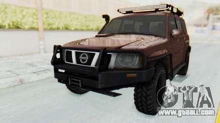 Nissan Patrol Y61 Off Road for GTA San Andreas
