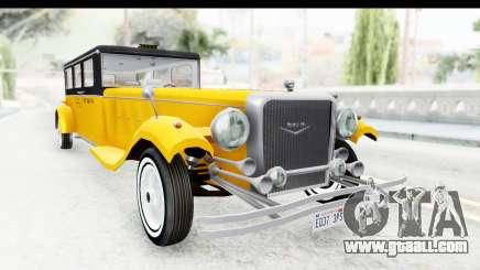 Unique V16 Fordor Taxi for GTA San Andreas