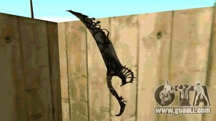 Prince Of Persia Water Sword for GTA San Andreas