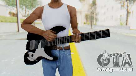 Steinberger GM1T White Pickguard for GTA San Andreas