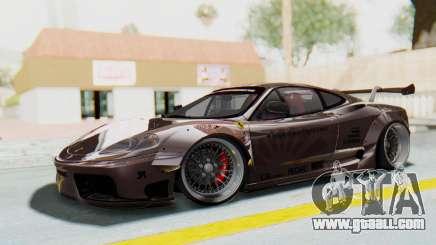 Ferrari 360 Modena Liberty Walk LB Perfomance v1 for GTA San Andreas