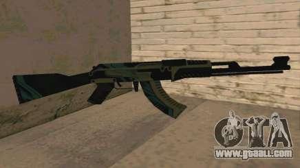 AK-47 Vulcan (SA) for GTA San Andreas