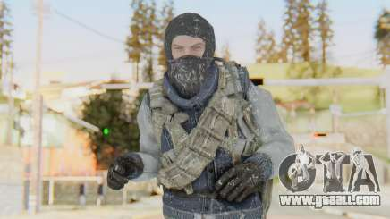 COD BO Bruce Harris Winter for GTA San Andreas