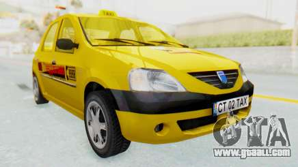 Dacia Logan Taxi for GTA San Andreas