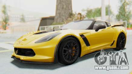 Chevrolet Corvette C7.R Z06 2015 for GTA San Andreas