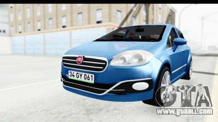 Fiat Linea 2014 Wheels for GTA San Andreas