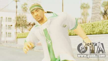 Def Jam Fight For New York - Sean Paul v2 for GTA San Andreas