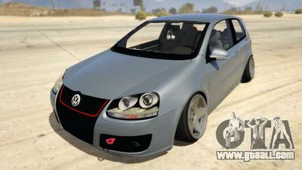 Volskwagen Golf MkV Stance for GTA 5