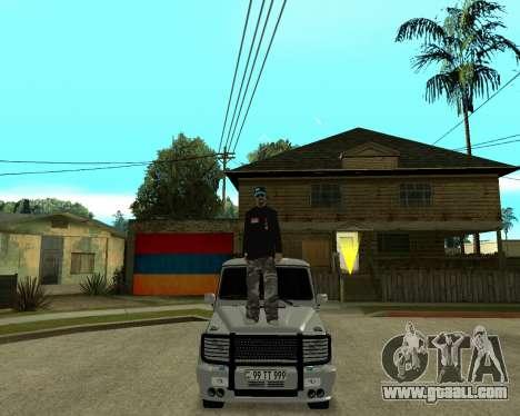 Armenian Skin for GTA San Andreas fifth screenshot