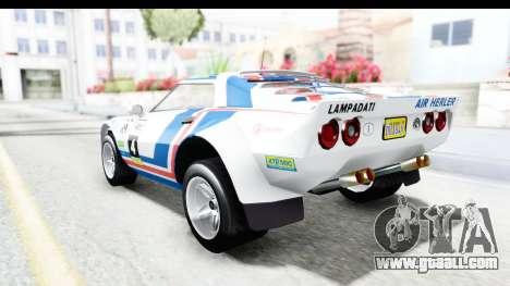 GTA 5 Lampadati Tropos Rallye No Headlights for GTA San Andreas upper view