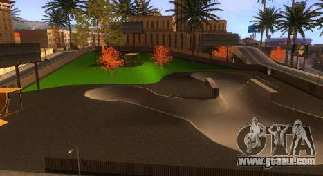 New textures of a skate Park and hospital for GTA San Andreas forth screenshot