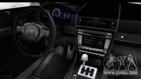 GTA 5 Pfister 811 SA Lights for GTA San Andreas inner view
